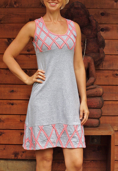 Diamonds Sleeveless Dress