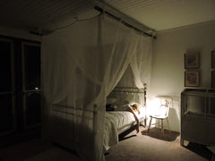 Mosquito nets, weddings, cotton mosquito nets, mozzie nets, entertaining, interiors, Byron Bay, bednets, Brunswick Heads, Mullumbimby