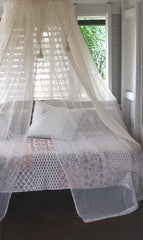mosquito net, cotton mosquito net, bed net, cotton mosquito net byron bay, insect protection