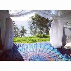 Van life, cotton mosquito net, mozzie net, van  net, insect protection