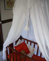 mosquito net, cotton mosquito net, bed net, cotton mosquito net byron bay,cot net, baby mosquito net,  insect protection