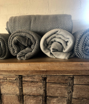 Cashmere + Bamboo throw