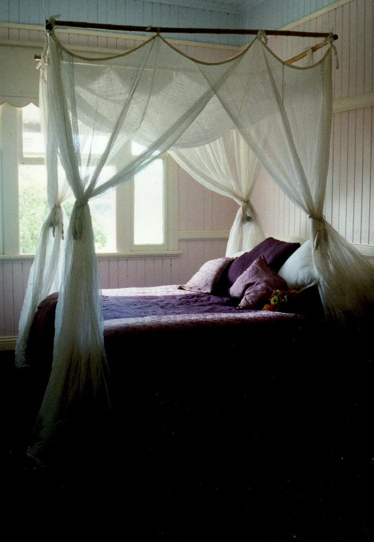 mozzie protection ,  Brunswick Heads, Mosquito nets, Mosquito nets Byron Bay, Mullumbimby, Mosquito Nets Mullumbimby, Made in Mullumbimby, organic cotton mosquito net, cotton mosquito net ,100% cotton mosquito net,bed net, organic mosquito net, mosquito net, insect protection,  interiors,  canopy net, flynet,  mosquito net Australia, midge net