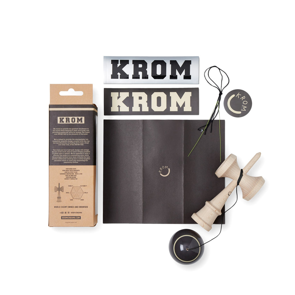 KROM GAS - CHARCOAL