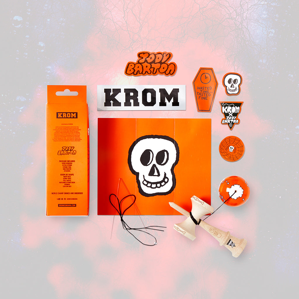 KROM JODY BARTON - SKELETONS ORANGE
