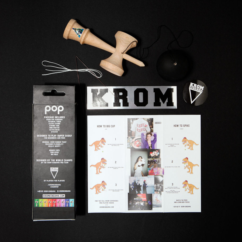 KROM POP BLACK - LIMITED EDITION