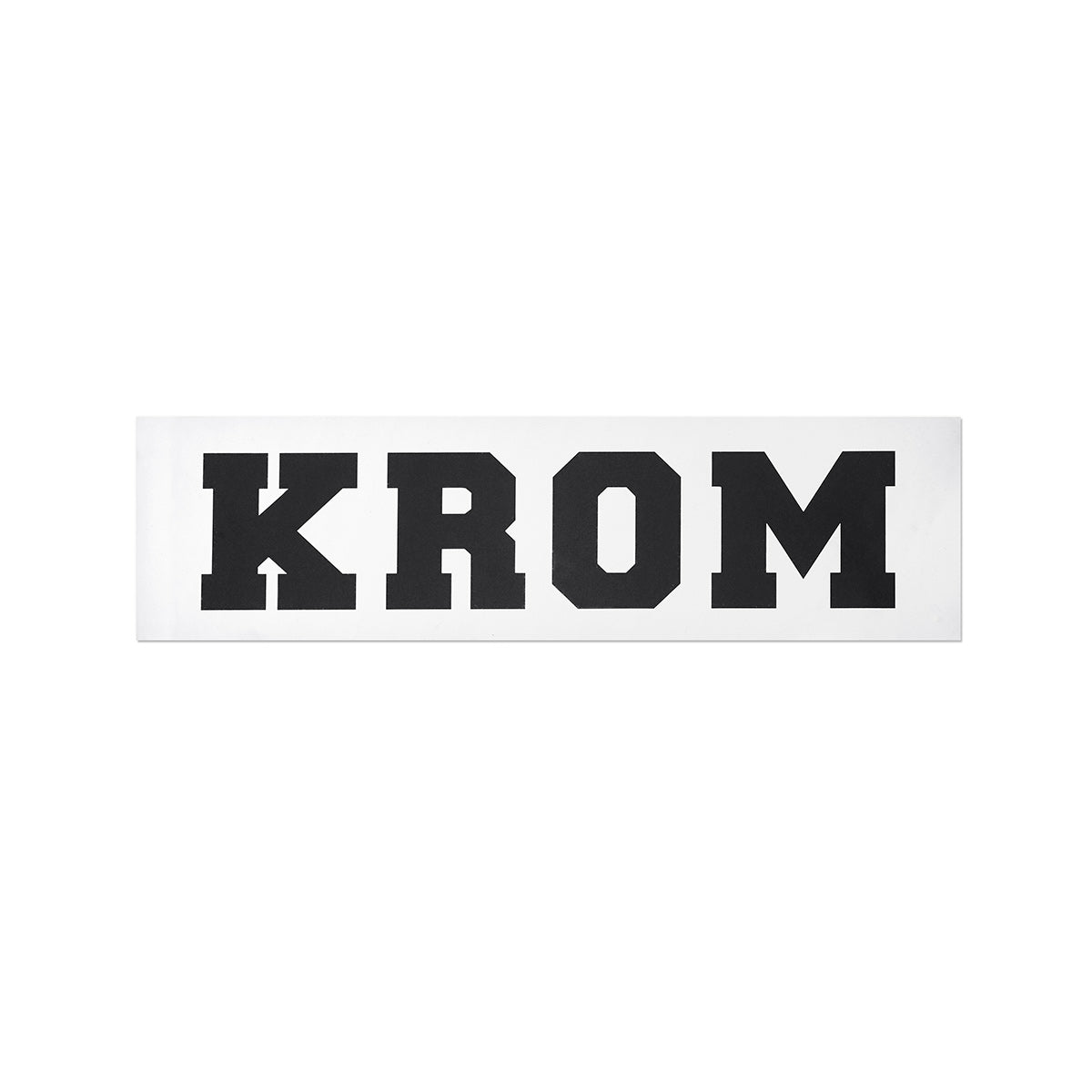 KROM SILVER STICKER PACK
