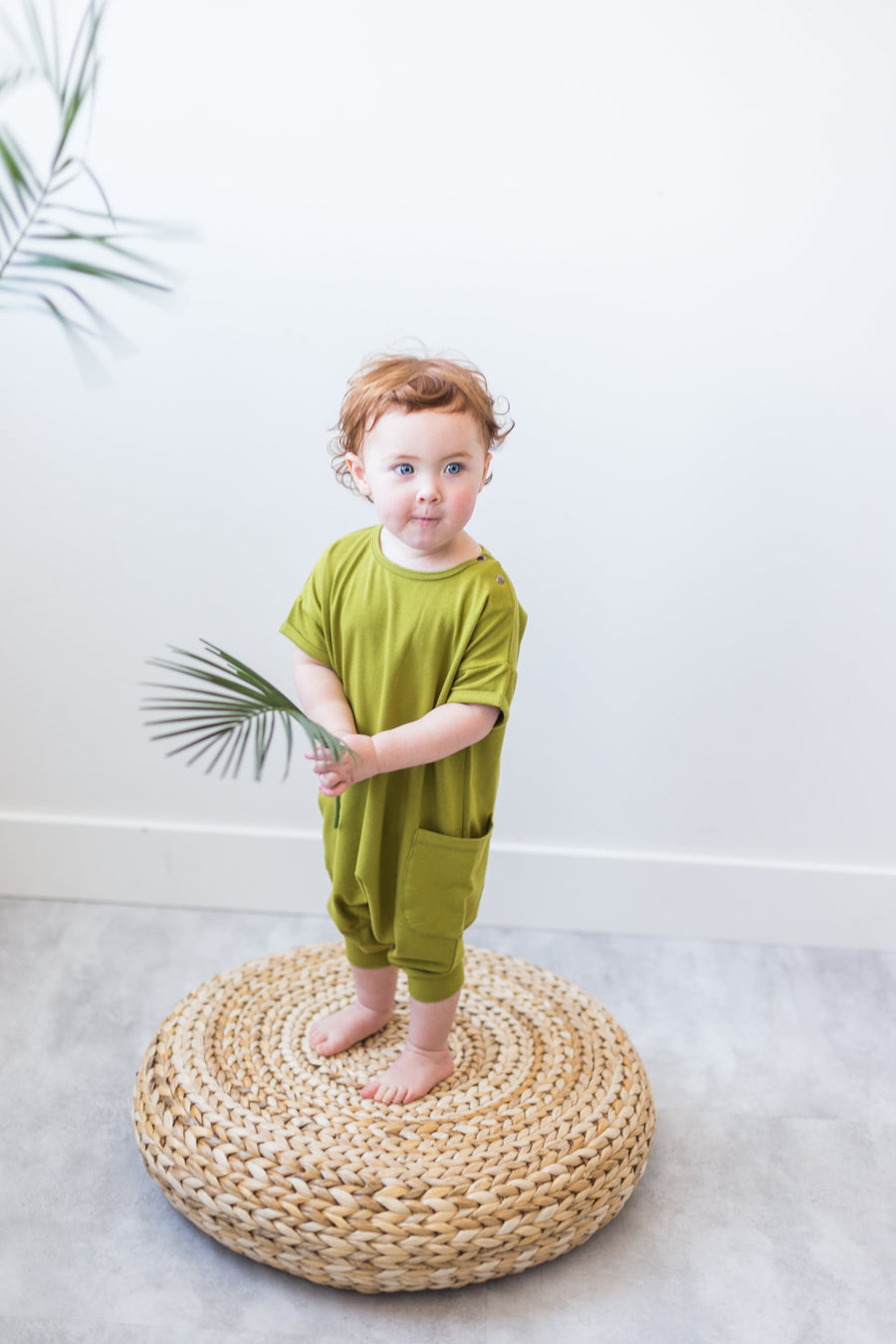 Drop Sleeve Romper (Child) - Flo + Izy