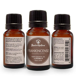 Frankincense Olibanum Essential Oil blended with Jojoba Oil
