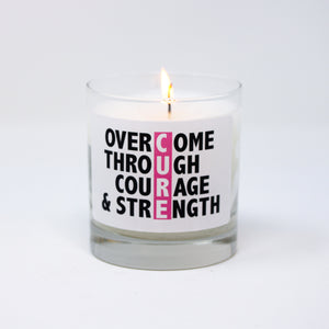 CURE - Overcome Through Courage & Strength-Limited Time