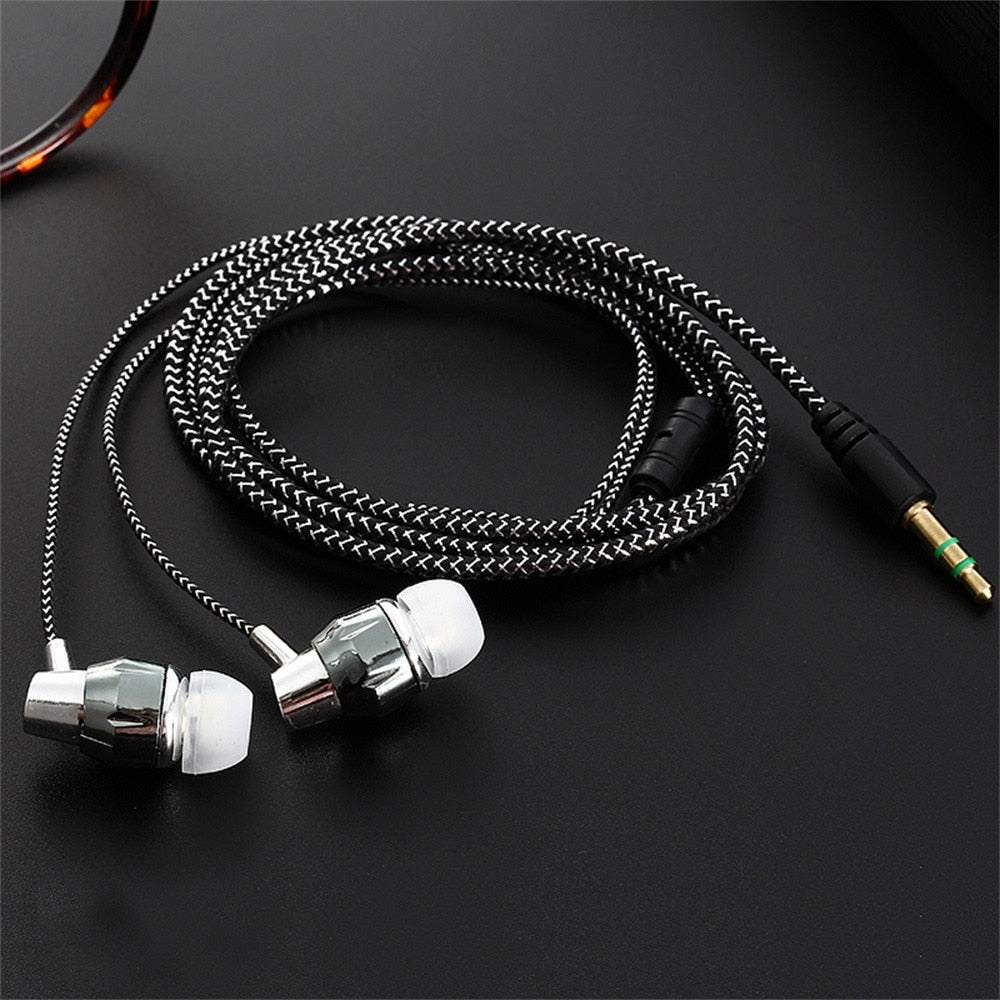 Universal 3.5mm In-Ear Stereo Earbuds Earphone For
