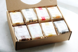 Handcrafted 8 Soap Sampler Gift Set