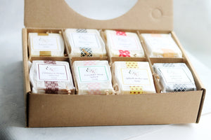 Luxurious Handcrafted Soap Sampler Set I-Best Seller!