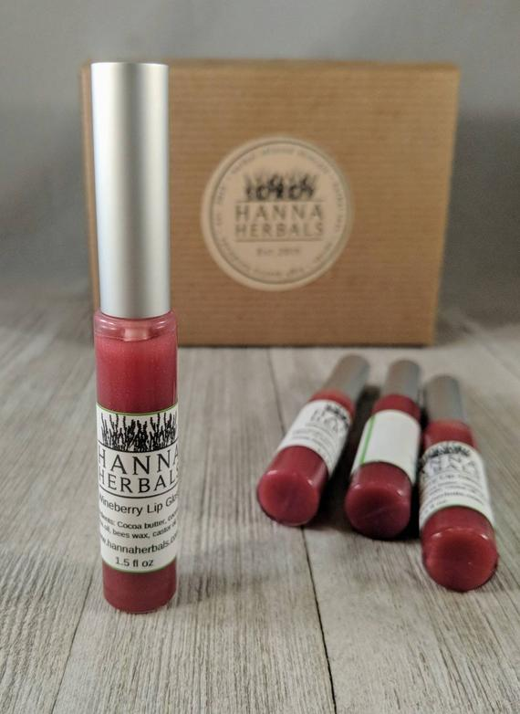 Wineberry Lip Gloss Wine Lip Gloss - Lip Balm -