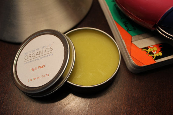 Organic Hair Wax for Babies, Children and Adults