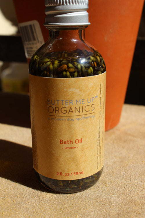 Bath Oil Healing and Relaxing Lavender