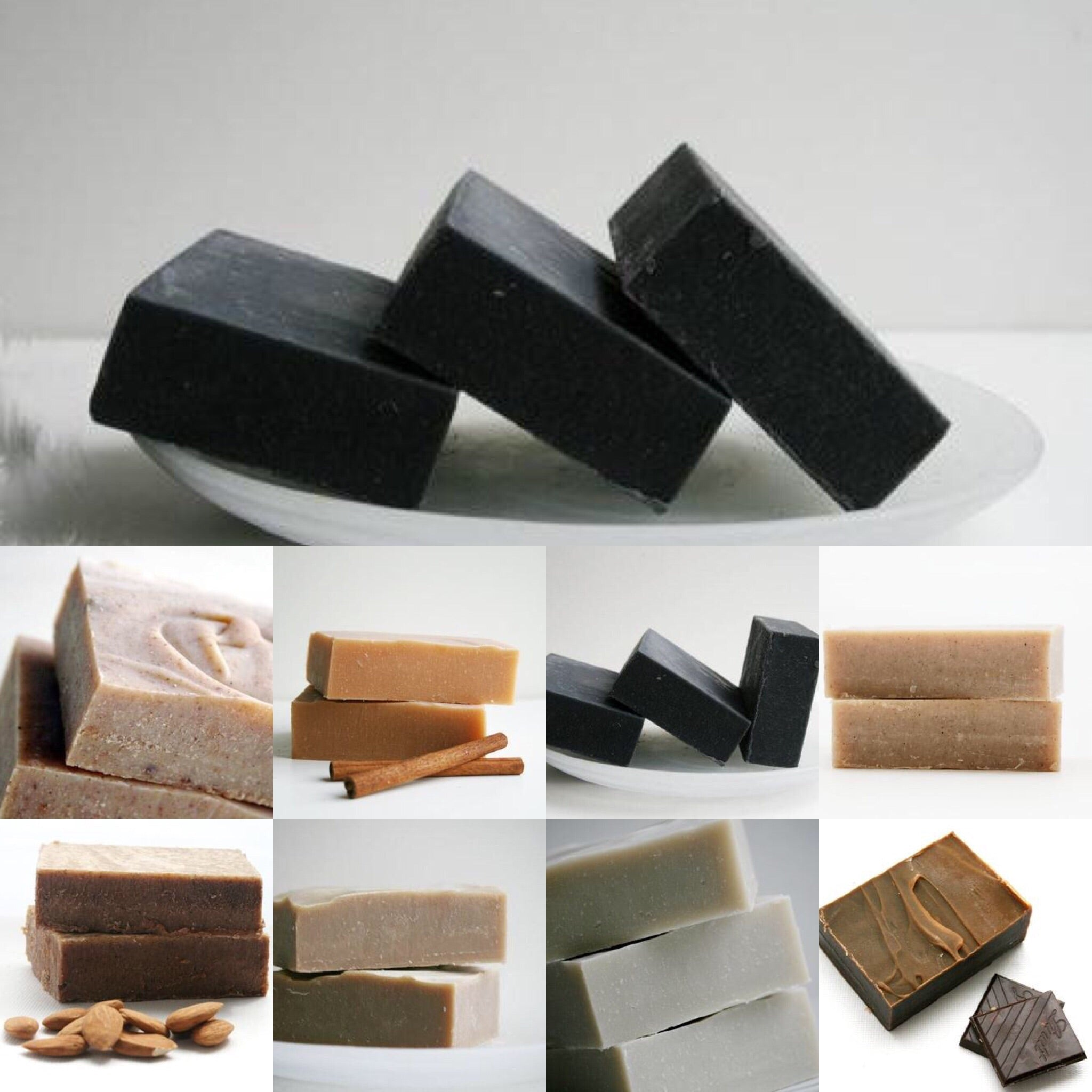 Unscented Activated Charcoal Soap