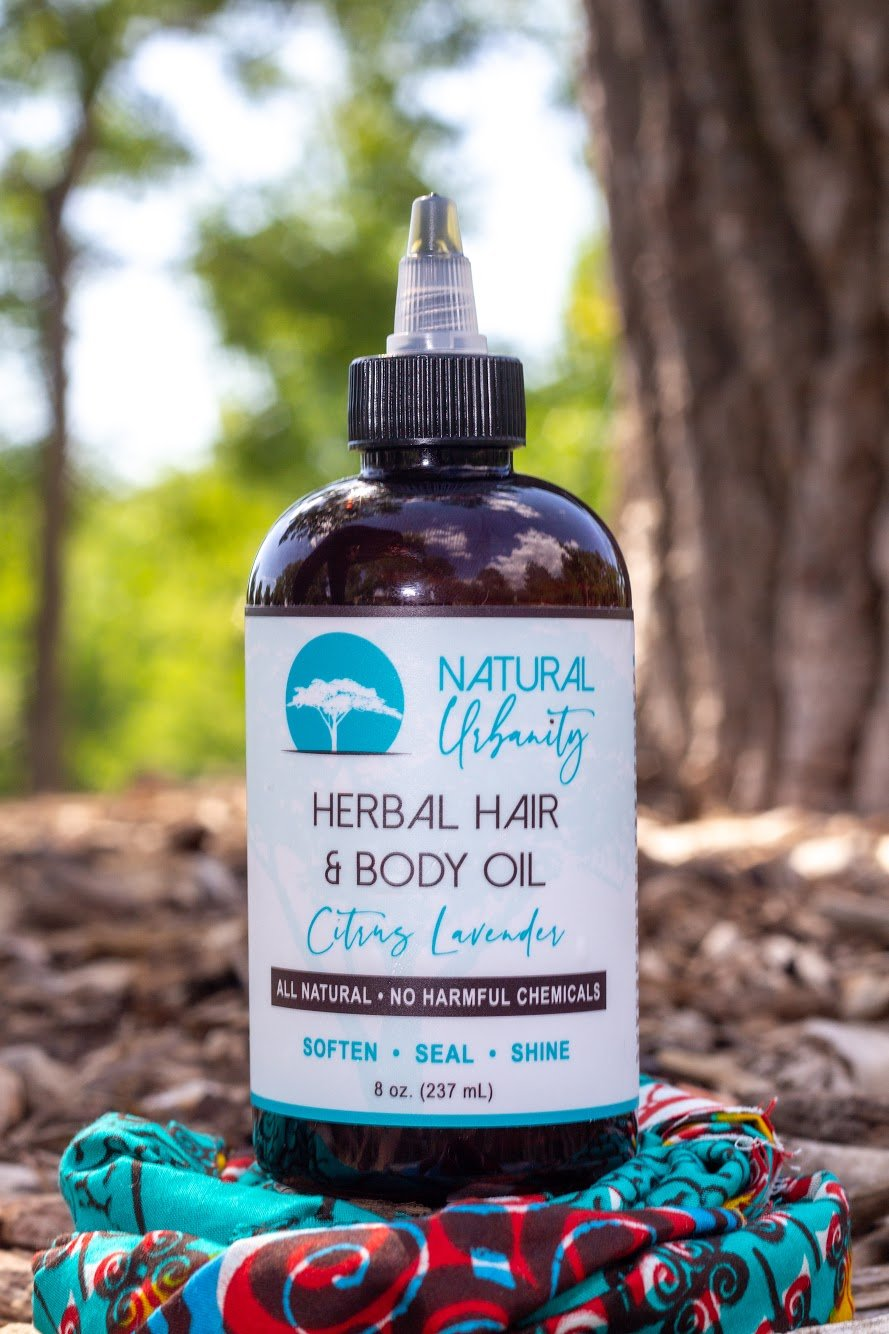 HERBAL HAIR + BODY OIL