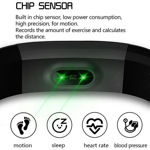 Image of Fitness Tracker Smart Tracker Waterproof