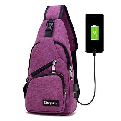 Image of Sling Bag Shoulder Bag Single Shoulder Strap Backpack Travel Backpack