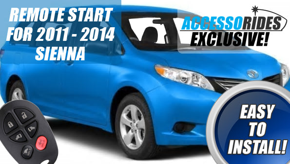 Oops! We Did It Again.. Toyota Sienna 100% Plug & Play Remote Start