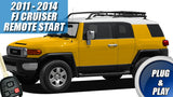 fj cruiser remote start kit plug and play