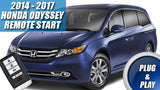 2014 - 2017 Honda Odyssey Remote Start Plug & Play