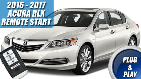 Acura RLX Remote Start for 2016 - 2017 - Plug & Play - PUSH START