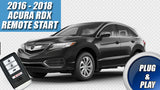 2016 2017 2018 Acura RDX remote start plug & play