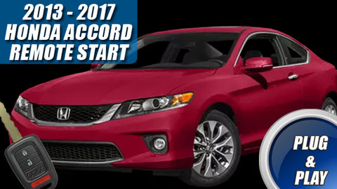 Honda Accord Remote Start for 2013 - 2017 Plug & Play