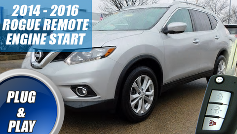 2014 2015 2016 Nissan Rogue Remote Starter Plug & Play Key START