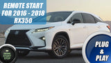 2016 2017 2018 Lexus RX350 Remote Start Plug & Play