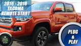 Toyota Tacoma Remote Start Kit Installation 2016 2017 2018
