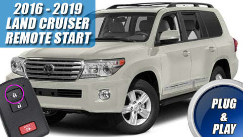 2016 - 2019 Land Cruiser Plug & Play Remote Start