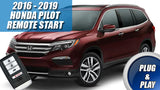2016 - 2019 Honda Pilot Remote Start Plug & Play