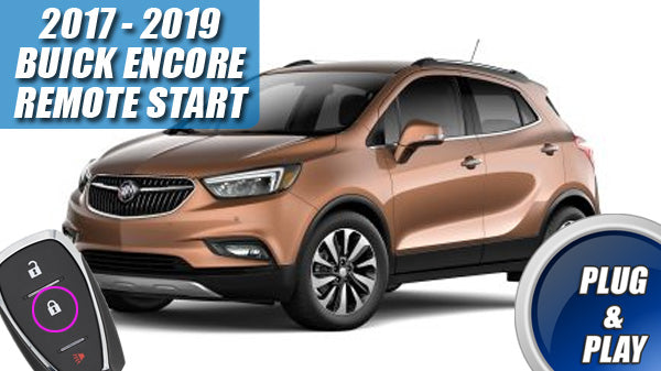 MPC Factory Activated Remote Start Kit for 2017-2020 Buick Encore Push-to-Start Includes Software Loader