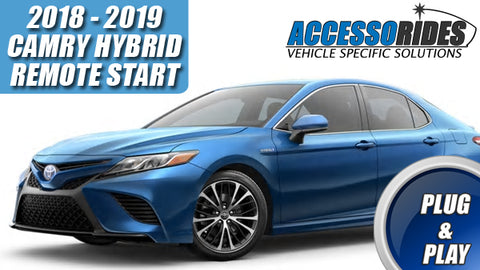 2018 - 2019 Camry Hybrid Remote Start