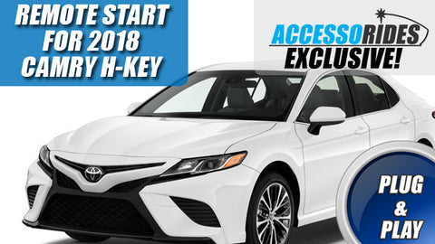 2018 Toyota Camry Plug & Play Remote Start