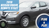 2018 Nissan Rogue Remote Start Plug & Play  PUSH START