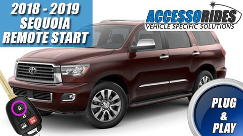 2018 2019 Toyota Sequoia Remote Start Plug & Play