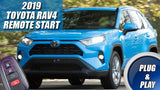 2019 Toyota RAV4 Remote Start Plug & Play