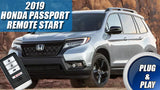2019 Honda Passport Remote Start Plug & Play
