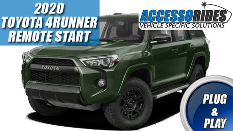 2020 Toyota 4Runner Remote Starter Plug & Play Kit for Push Start