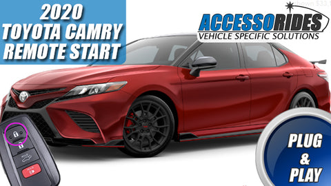 2020 Toyota Camry Remote Start Plug & Play