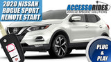 2020 Nissan Rogue Sport Remote Start