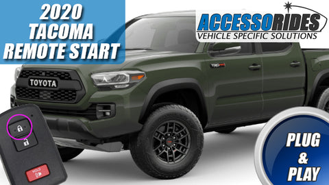 2020 Toyota Tacoma Remote Start
