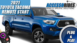 Toyota Tacoma 2021 Remote Start Kit - Plug & Play - H KEY START