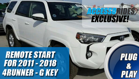 2011 - 2018 Toyota 4Runner Remote Start Starter