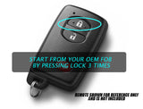 Sienna Remote Car Start from OEM Fob Only