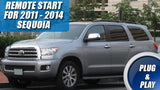 2011 - 2014 Toyota Sequoia Remote Start Plug & Play